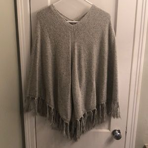Tops - Banana republic fringe poncho